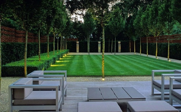 103 examples of modern garden design interior design for Geometric garden designs