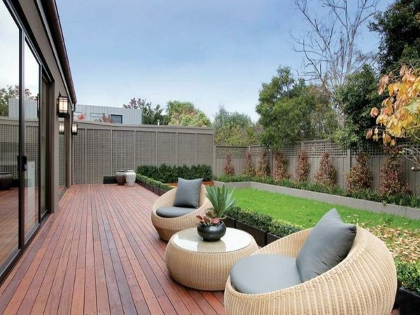 Round Garden Furniture 103 Examples Of Modern Garden Design