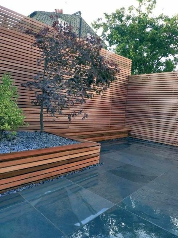 minimalist look 103 examples of modern garden design - Garden Examples Photos