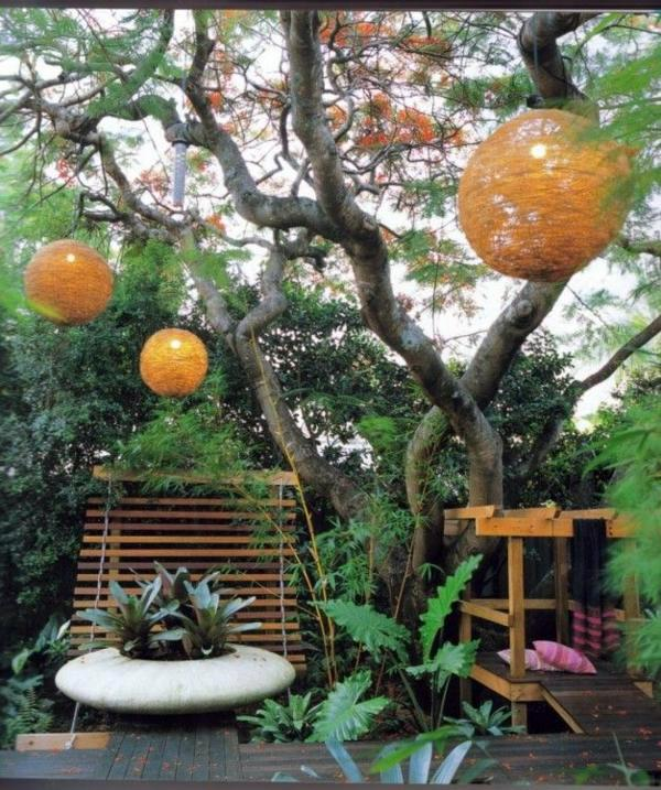 color pendant lights 103 examples of modern garden design - Garden Examples Photos