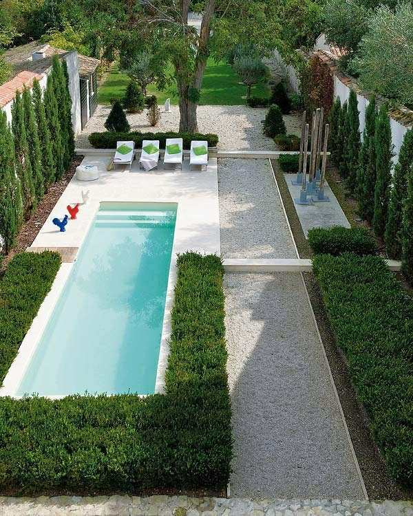 Pool And Views The Protection Of Trees 103 Examples Modern Garden Design