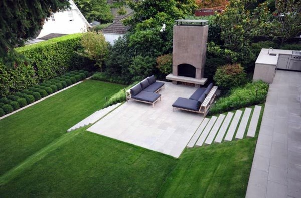 landscape modern garden design - photo #26