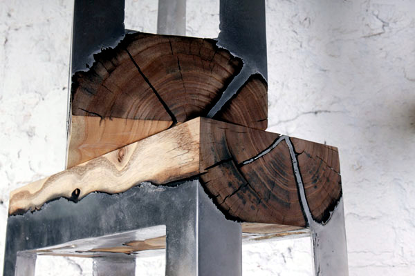 Recycled Stump Use In Interior Design And Decoration   Creative Ideas  Inspired By Nature