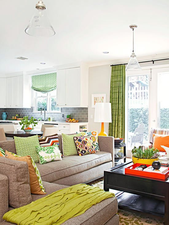 20 decorating ideas for family friendly living room