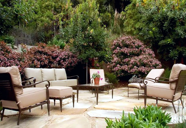 Beautiful garden ideas lounge
