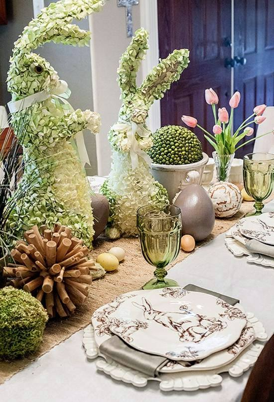 ostern easter decoration craft 30 adorable craft ideas including table decoration - Easter Decorating Ideas