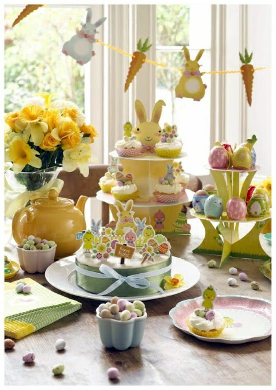 Easter decoration craft 30 adorable craft ideas including table decoration interior design - Table easter decorations ...