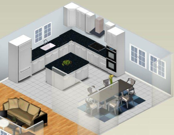 Free room planner pros and cons of online apps for Kitchen design app