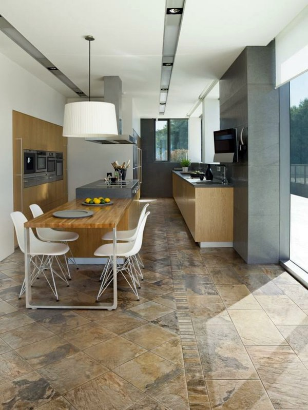 How to choose the right kitchen floor interior design for How to choose floor tile