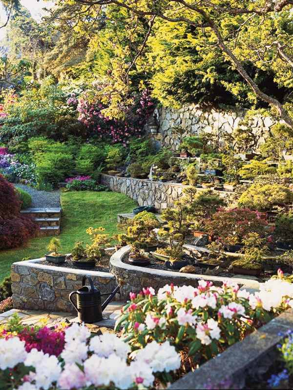landscaping on a slope how to make a beautiful hillside garden