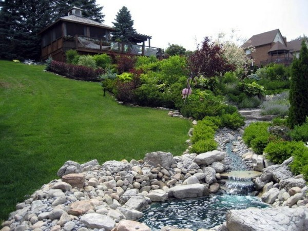 Captivating ... Japanese Garden Landscaping On A Slope   How To Make A Beautiful  Hillside Garden