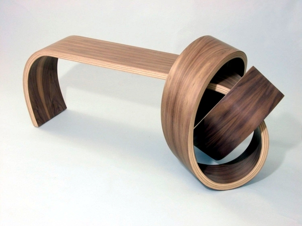 Beau Contemporary   Cool Designer Furniture From Wood Tie A Knot In Style