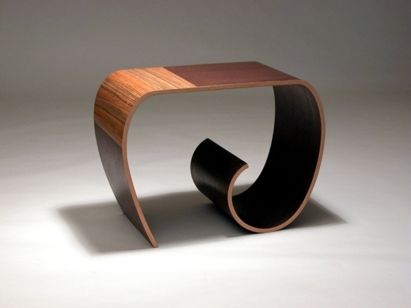 Cool designer furniture from wood tie a knot in style for Cool furniture designs