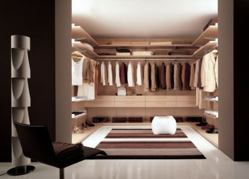 Interior design ideas for a beautifully designed closet Interior