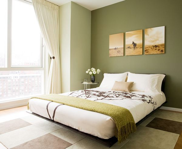 Patterns And Pale Green Walls 43 Cool Bedroom Color Palette Ideas   Make  The Right Choice!