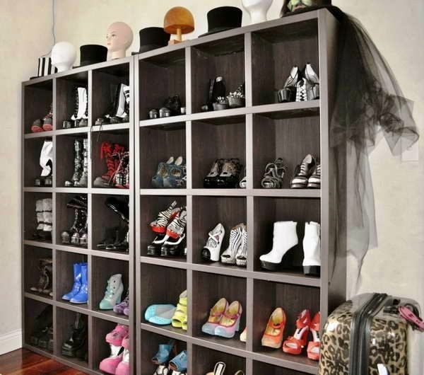 A diy shoe rack may seem interesting and chic interior design diy do it yourself a diy shoe rack may seem interesting and chic solutioingenieria Gallery