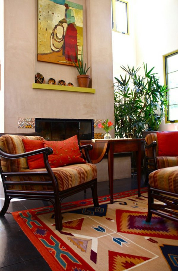 ideas colorful apartment wohnideen modern interior design ideas in the mexican style - Mexican Interior Design Ideas