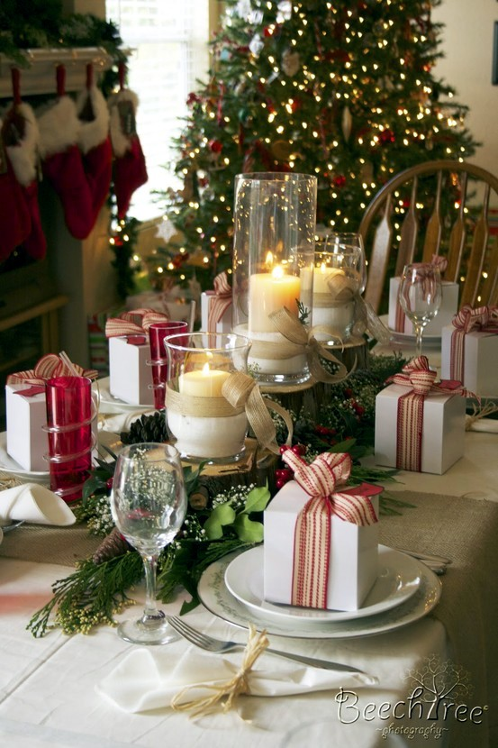 How To Decorate A Table how to decorate the table for christmas | interior design ideas