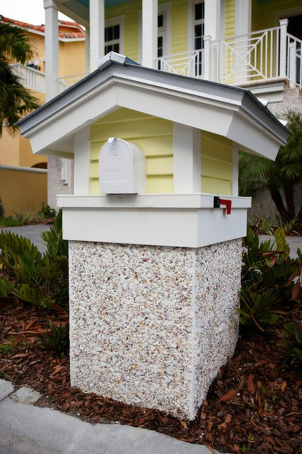 design mailbox fits your mailbox to your house - Mailbox Design Ideas