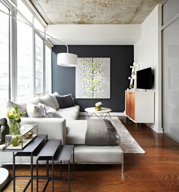 ... Living Room Color Scheme   Gray And Yellow