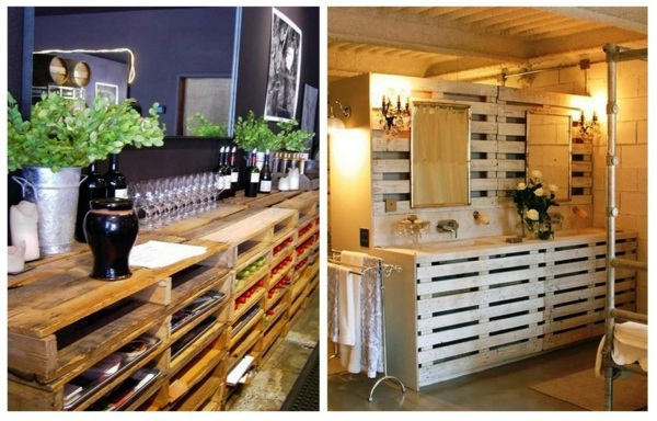DIY Furniture from Euro pallets - 101 craft ideas for wood pallets