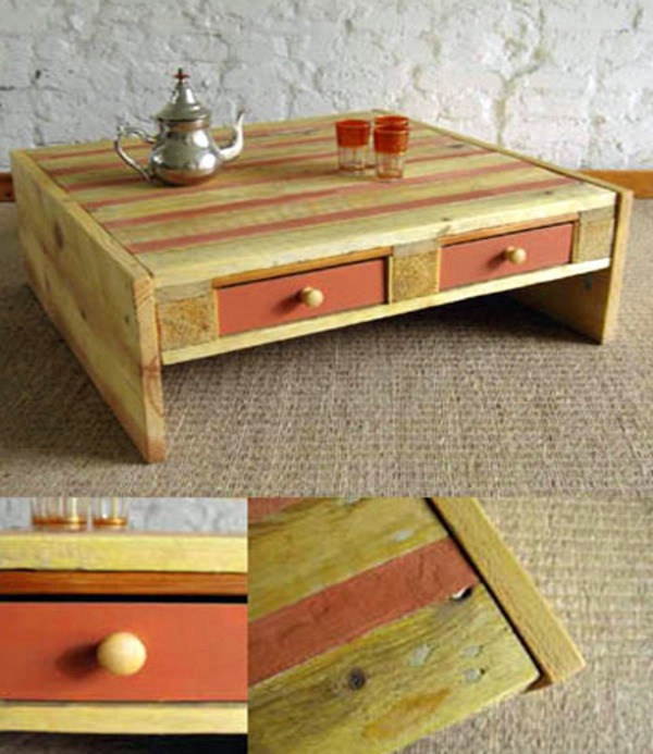 DIY Furniture From Euro Pallets 101 Craft Ideas For Wood