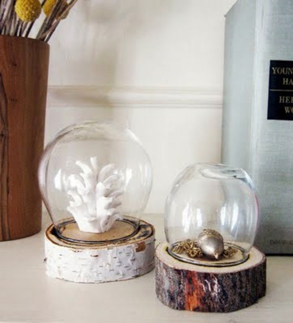 20 Creative Decorating Ideas From Tree Stump Interior