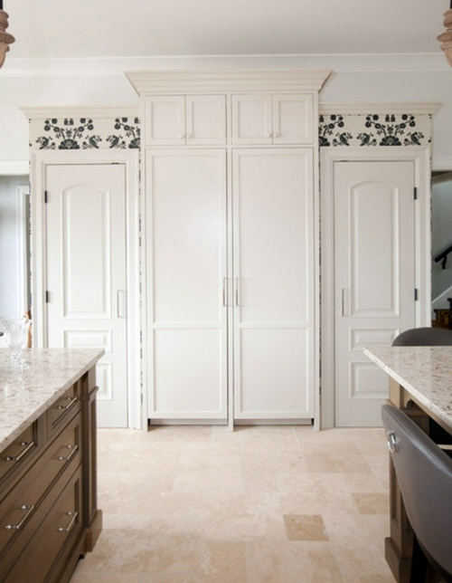 Furnished French Country Style Kitchens Design Interior