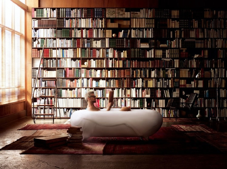 ... House Library Design ...