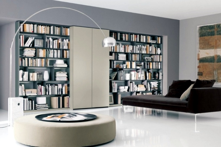 House library design interior design ideas avso org for Home library designs interior design