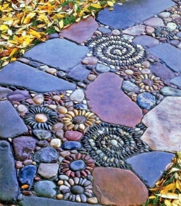 Creative design rock garden - 30 frames and custom garden ideas