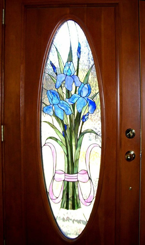 superior door glass painting designs awesome design