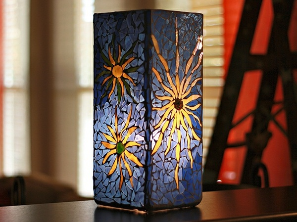Glass painting at home – Colorful glass embellishment than the ...