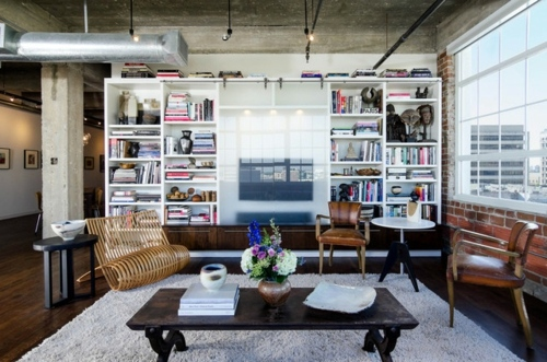 Wohnideen Loft Style 12 hints for beautiful living in a loft or studio interior design