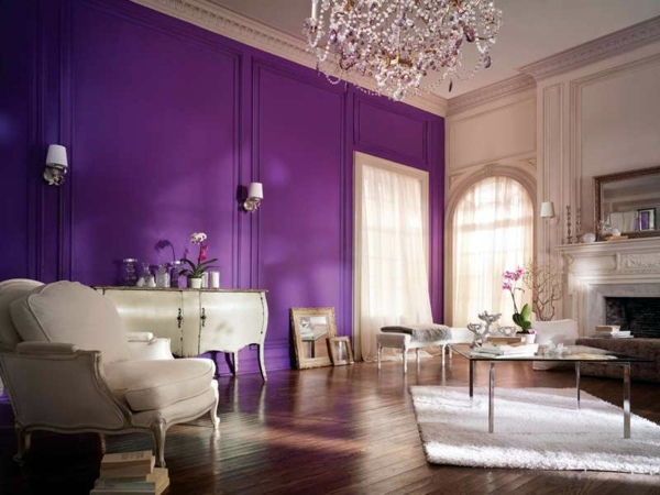 Follow the latest color trends Wall colors living room - which come in  shades shortlisted?