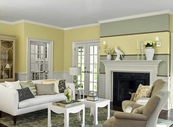 Wall colors living room - which come in shades shortlisted?