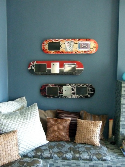 19 DIY home design ideas – amazing skateboard products | Interior ...