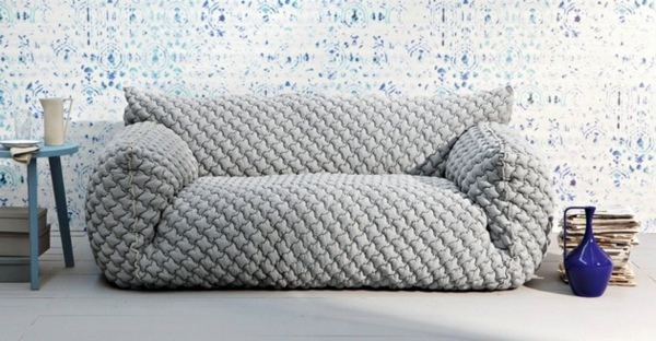 Designer Sofa With Removable Cover By Nuvola Interior