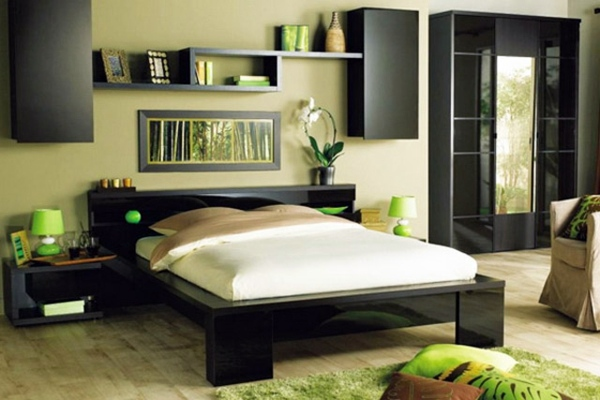 Bedroom Wall Decoration. Bedroom Wall Design   Decoration Behind The Bed F