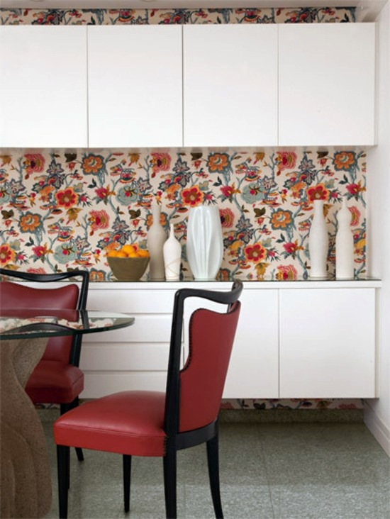 Cooking fresh rear wall Cool interior design ideas, which include the  redesign with Wall Murals