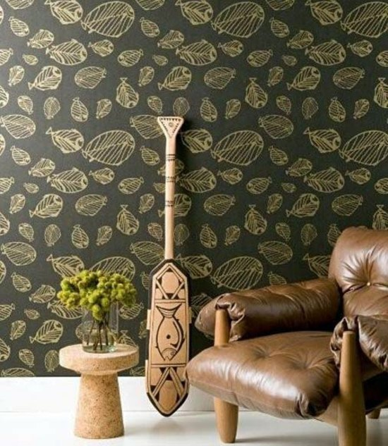 Cool interior design ideas, which include the redesign with Wall Murals