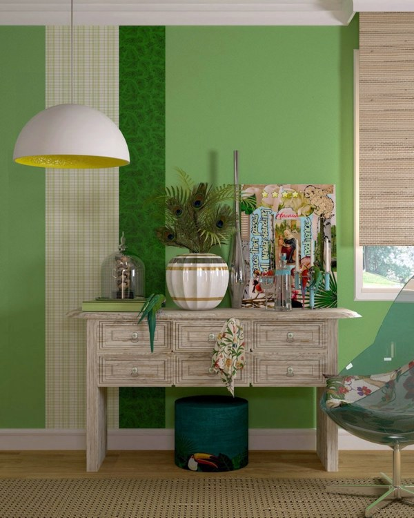 Wandgestaltung   Color Ideas For Walls   Attractive Wall Colors In Each Room