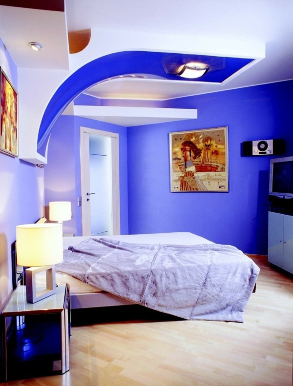 The current extremely Violet Color ideas for walls - Attractive wall colors  in each room