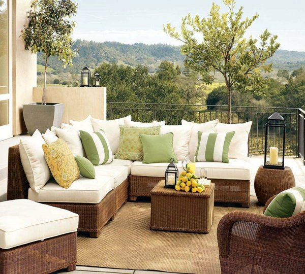 Balcony Furniture Design Ideas: Cool Garden And Balcony Furniture Ideas