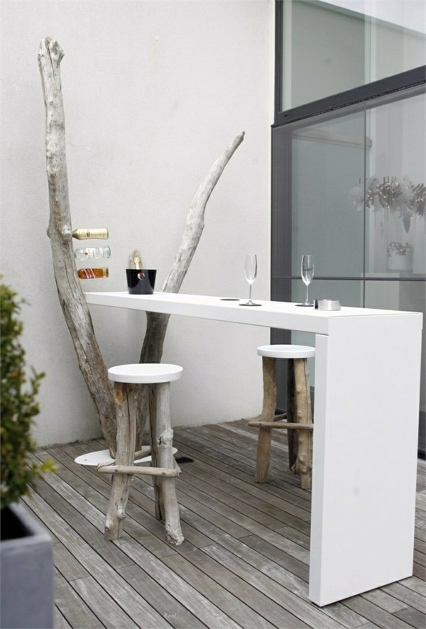 Cool terrace design ideas – Cafe in homey atmosphere ...
