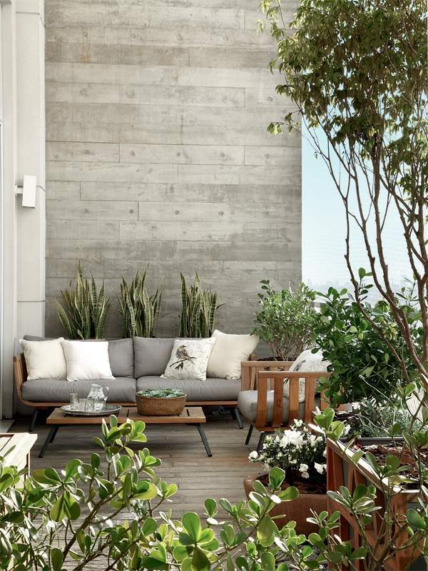 Modern terrace design for your city apartment three for Apartment design with terrace