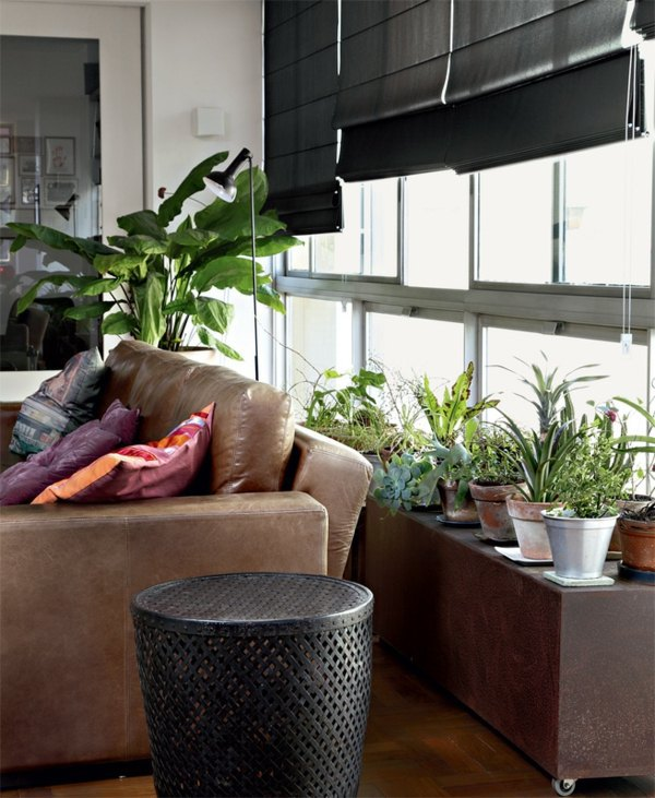 A Small Garden At Home Modern Terrace Design For Your City Apartment