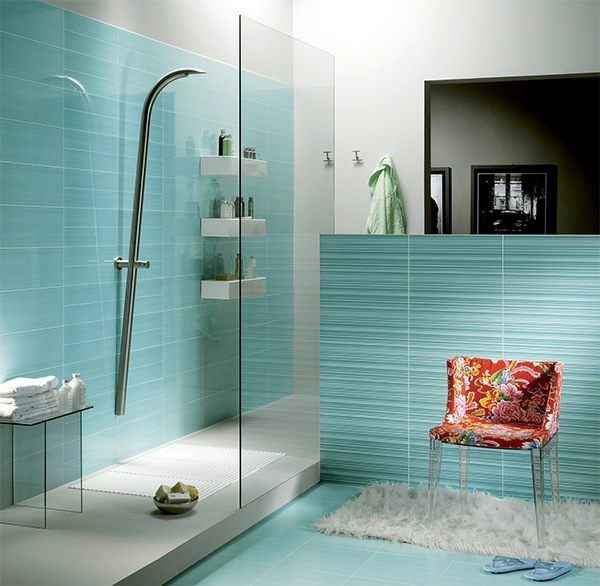 Beautiful Bathrooms In Sri Lanka small bathroom tile – bright tiles make your bathroom appear