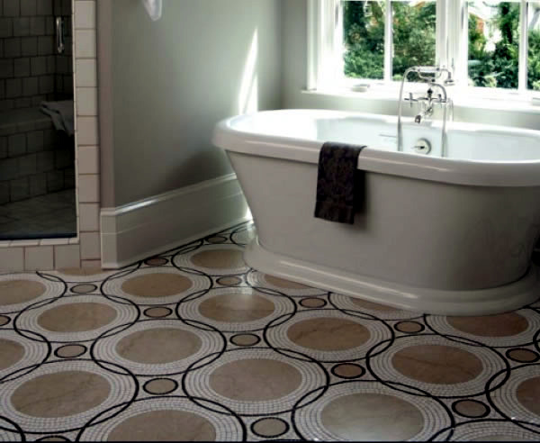 Unusual ideas for bathroom floor interior design ideas for Unusual bathroom flooring