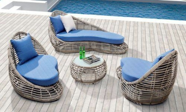 25 Outdoor Rattan Furniture – Lounge furniture from rattan and ...